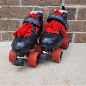 Other - Red and black rollerskates